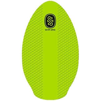 "Skim1 EVA Board 35"" Wood Lime Skimboard"