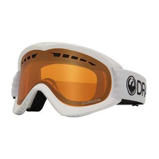 Dragon DRDX9 White Goggle Amber Lens