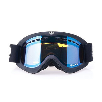 Dragon DXS Coal Goggle Ion Yellow + 2x Amber Lens