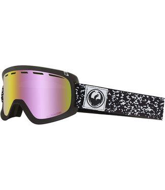 Dragon D1 Scribe Goggle Pink Ion LumaLens + Dark Smoke Lens