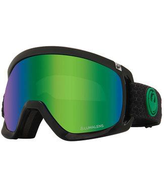 Dragon D3 Split Goggle Green Ion LumaLens + Amber LumaLens