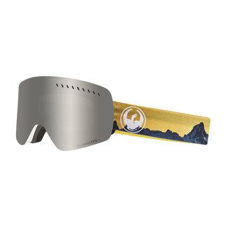 Dragon NFXS Realm Goggle Silver Ion LumaLens + Dark Smoke