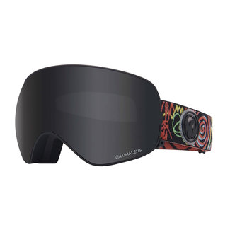 Dragon X2S GiGi Sig Goggle Dark Smoke + Flash Blue LumaLens