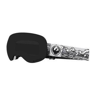 Dragon X2 Iguchi Sig Goggle Dark Smoke LumaLens + Rose LumaLens