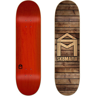 "Sk8Mafia House Logo Wood 8.25"" Skateboard Deck"