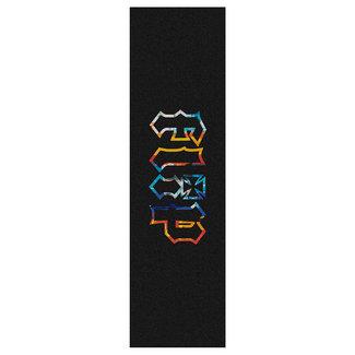 """Flip HKD Tie Dye Logo 9"""" Griptape"""