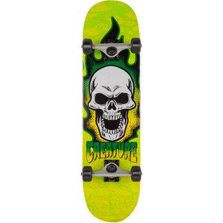 "Creature Bonehead Micro 7.5"" Complete Skateboard Black/Green"