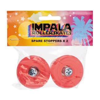Impala 2 Pack Stopper with Bolts Red