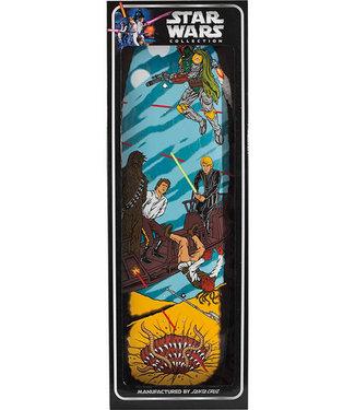 """Santa Cruz Star Wars Collectible Sarlacc Pit Scene 10.0"""" Deck"""