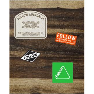 Follow Assorted Sticker Pack