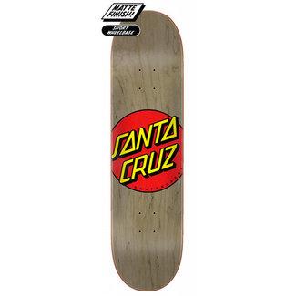 Santa Cruz Classic Dot FA20 8.375 Skateboard Deck Brown