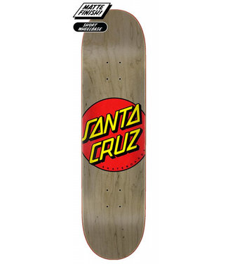 Santa Cruz Classic Dot FA20 8.375 Skateboard Deck Brown
