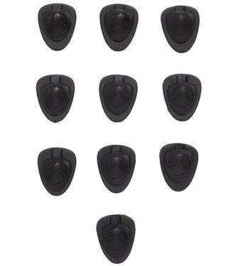 Liquid Force Lace Lock (10 Pack) Black