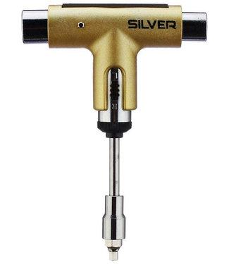 Silver Premium Skatetool Metallic Gold