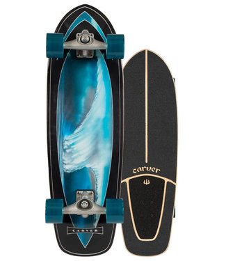 """Carver Super Surfer 32"""" C7 Surfskate Complete"""