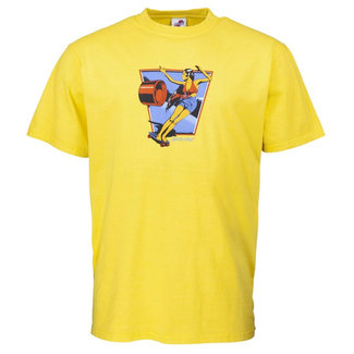Santa Cruz Dolly T-Shirt Yellow
