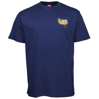 Santa Cruz Kendall Snake T-Shirt Dark Navy