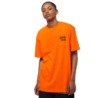 Santa Cruz Black Magic Hand T-Shirt Safety Orange