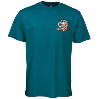 Santa Cruz Multimedia Witchcraft T-Shirt Petrol Blue