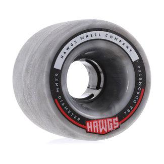 Hawgs Fatty Cruiser Wheels 63mm 78A Grey Swirl