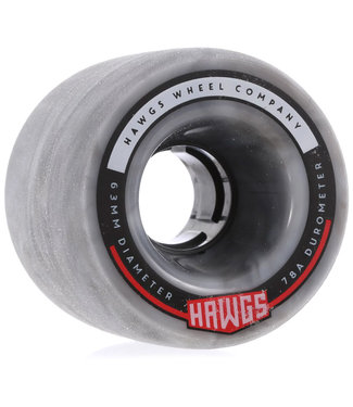 Hawgs Fatty Cruiser Wheels 63mm 78A Grey Swirl
