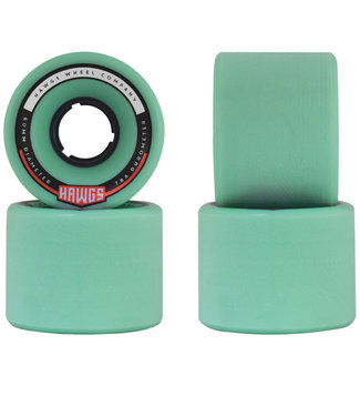Hawgs Chubby Longboard Wheels 60mm 78A Teal