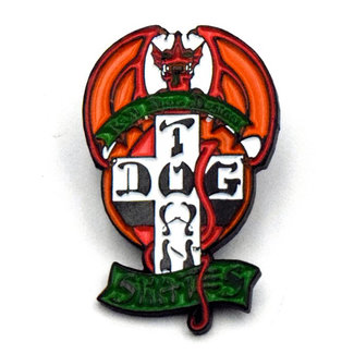 Dogtown Red Dog Enamel Pin