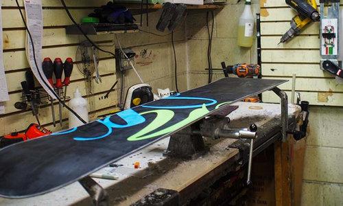 Snowboard repair