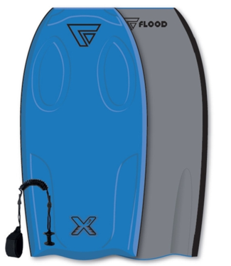 "Dynamx EPS STR Flood Bodyboard 42"" w/ Stringer Blue"
