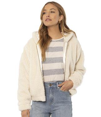 SisstrEvolution Sedona Longsleeve Knit Fleece Vintage White