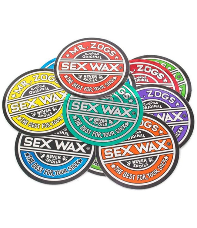 Sex Wax 3' Circular Original Logo Sticker