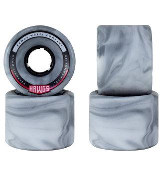 Hawgs Chubby Longboard Wheels 60mm 78A Grey Swirl