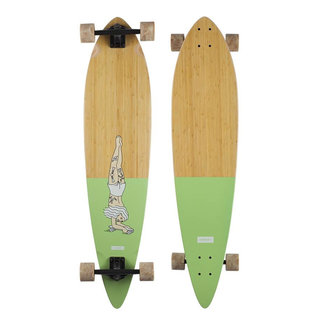 "Landyachtz Bamboo Pinner Handstand 44"" Complete Longboard"