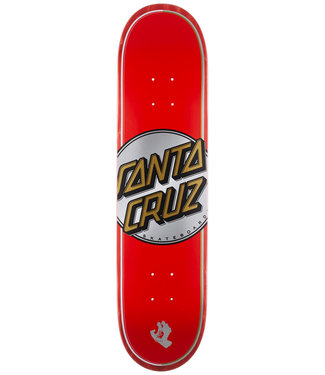Santa Cruz Steadfast Dot VX 7.75 Red Skateboard Deck