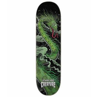 Creature Skate Aid Dracos 8.25 Green Skateboard Deck
