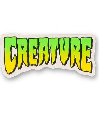 "Creature Logo Decal 4"" Sticker"