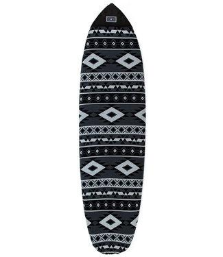 "Creatures Of Leisure 6'0"" Fish Aztec Sox Grey Charcoal Surfboard Sock"