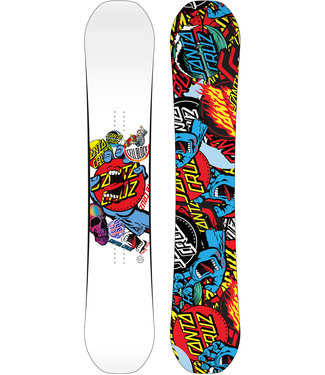 Santa Cruz Decal 2021 Snowboard white