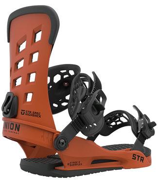 UNION STR 2021 Burnt Orange Snowboard Binding