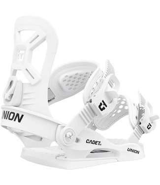 UNION Cadet XS 2021 Kids Snowboard Binding White