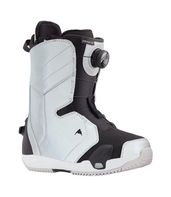 Burton Limelight Step On Gray Reflective 2021 Snowboard Boots