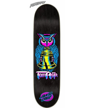 "Santa Cruz Asta Night Owl Powerply 8.0"" Skateboard Deck"