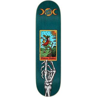 Santa Cruz Delfino Tarot Powerply 8.25 Skateboard Deck Natural