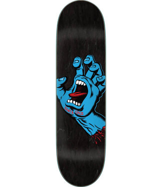 "Santa Cruz Screaming Hand FA20 8.6"" Skateboard Decks Black"