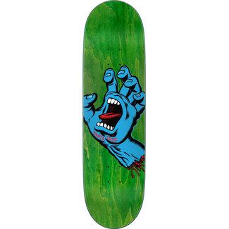 "Santa Cruz Screaming Hand FA20 8.8"" Skateboard Decks Green"