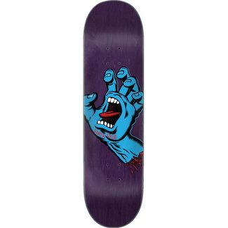 "Santa Cruz Screaming Hand FA20 8.375"" Skateboard Deck Purple"