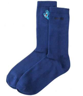 Santa Cruz Screaming Mini Hand Sock O/S Dark Navy