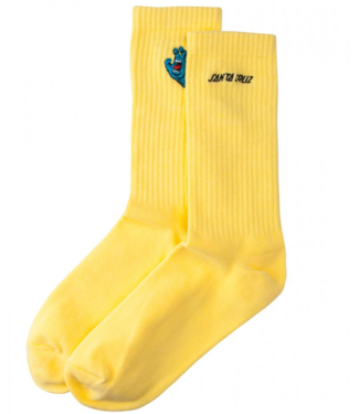 Santa Cruz Screaming Mini Hand Sock O/S Banana