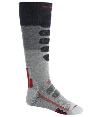 Burton M Performance Plus Lw Cp Socks Gray Heather Block 2021