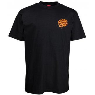 Santa Cruz Salba Tiger Hand T-Shirt Black